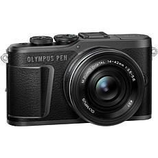 Olympus PEN E-PL10 Mirrorless Digital Camera w/14-42mm Lens - Black
