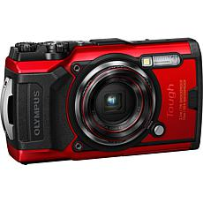 Olympus Tough Series TG-6 12MP Digital Camera - Red