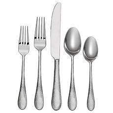 Oneida Tibet 45-Piece Everyday Flatware Set, Service for 8