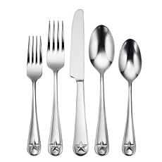 Oneida Tindra 45-Piece Everyday Flatware Set, Service for 8
