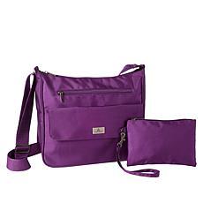 Organizzi RFID Carryall Bag with Wristlet