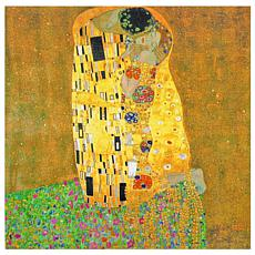 Oriental Furniture Works of Klimt Canvas Art The Kiss