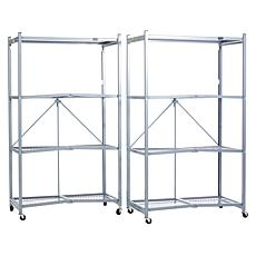 Origami Heavy Duty 4-Tier Rack 2-pack