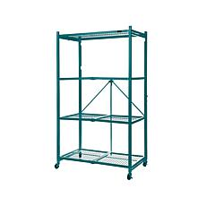 Origami Large 4-Tier Heavy-Duty Rack with Casters