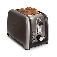 Oster Black Stainless Collection 2-Slice Toaster