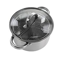 Oster Sangerfield 5-Piece 4-Qt Dutch Oven w/Lid & 3-Section Dividers