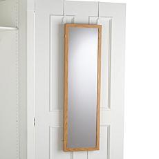 Delightful Over The Door Three Way Mirror ...
