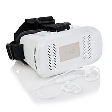 PanoVR Virtual Reality Headset with Wireless Earbuds