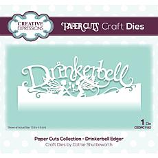 Paper Cuts Collection -Drinkerbell Edger