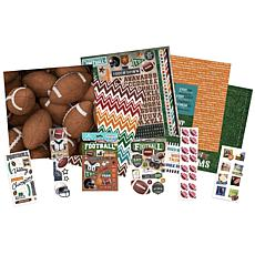 Paper House Football Paper Crafting Bundle