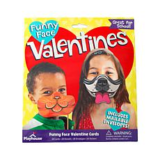 Paper House Funny Face Pet Valentine Cards