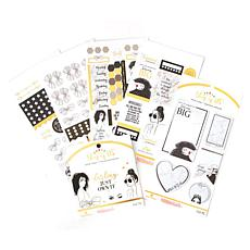 Paper House Indy 'N Ivy Ink Planner Embellishment Bundle