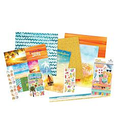Paper House Sun Drenched Paper Crafting Kit