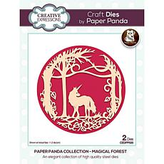 Paper Panda Magical Forest Craft Die