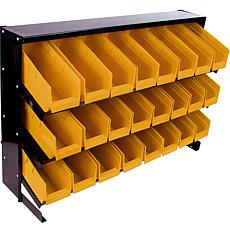 Parts Storage Rack with 24 Bins