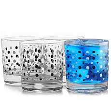Pasabahce Istanbul 4 Piece 10.25 Ounce Double Old Fashioned Glass C...