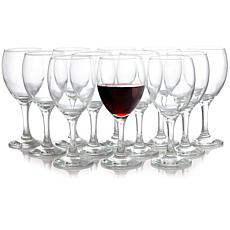 Pasabahce Prestige 12 Piece 11.75 oz Formal Wine Glass Set