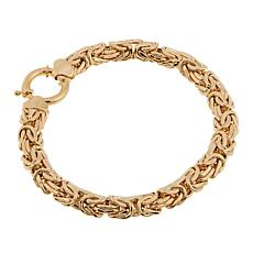"Passport to Gold 14K Yellow Gold Byzantine 8"" Bracelet"