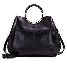 Patricia Nash Arenzano Leather Double Ring Large Shopper