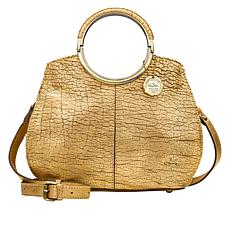 Patricia Nash Aria Leather Double Ring Shopper