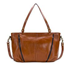 Patricia Nash Arvo Leather Concealed Pocket Tote