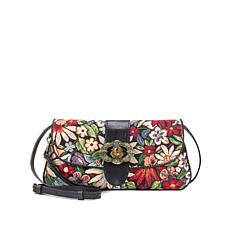 Patricia Nash Baku Tapestry Crossbody Clutch