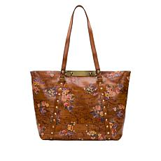 Patricia Nash Benvenuto Leather Tote