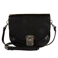 Patricia Nash Bettina Small Leather Saddle Bag