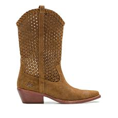 Patricia Nash Blair Perforated Suede Riding Boot