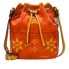Patricia Nash Brindisi Leather Bucket Bag