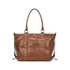 Patricia Nash Carducci Leather Pocket Tote