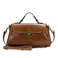 Patricia Nash Castile Leather Crossbody Baguette