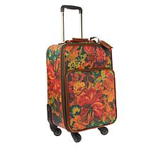 Patricia Nash Coated Canvas Vettore Wheeled Trolley Bag