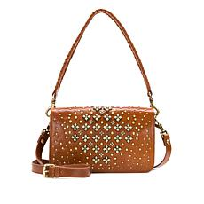 Patricia Nash Discovery Molise Studded Leather Crossbody