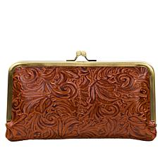 Patricia Nash Everly Leather Frame Wallet