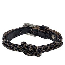Patricia Nash Jolie Braided Leather Knot Bracelet