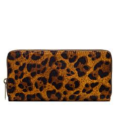 Patricia Nash Lauria Zip-Around Leather Wallet  with RFID  Technology