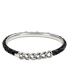 Patricia Nash Leonora Leather Chain Bangle Bracelet