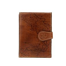 Patricia Nash Map Leather Passport Travel Case