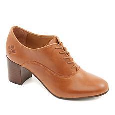 Patricia Nash Mara Block-Heel Leather Oxford