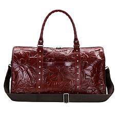 Patricia Nash Mariani Leather Weekender