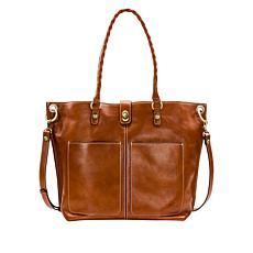Patricia Nash Marseille Leather Grommet Tote