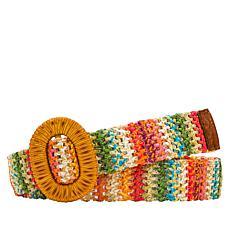 Patricia Nash Mazzanta Adjustable Braided Belt