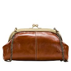 Patricia Nash Mia Leather Frame Satchel