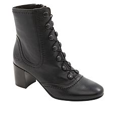 Patricia Nash Mila Leather Lace-Up Boot