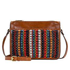 88e549ab9519 Patricia Nash Nazaire Beaded Leather Crossbody Bag