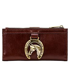 Patricia Nash Nazari Leather Wallet with RFID Protection