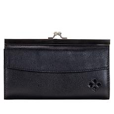 Patricia Nash Paola Leather Frame Wallet with RFID Protection