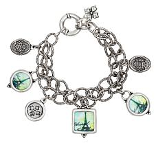 Patricia Nash Paris Postcard Dangle Bracelet