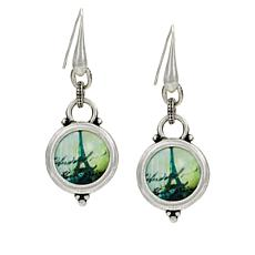 Patricia Nash Paris Postcard Drop Earrings